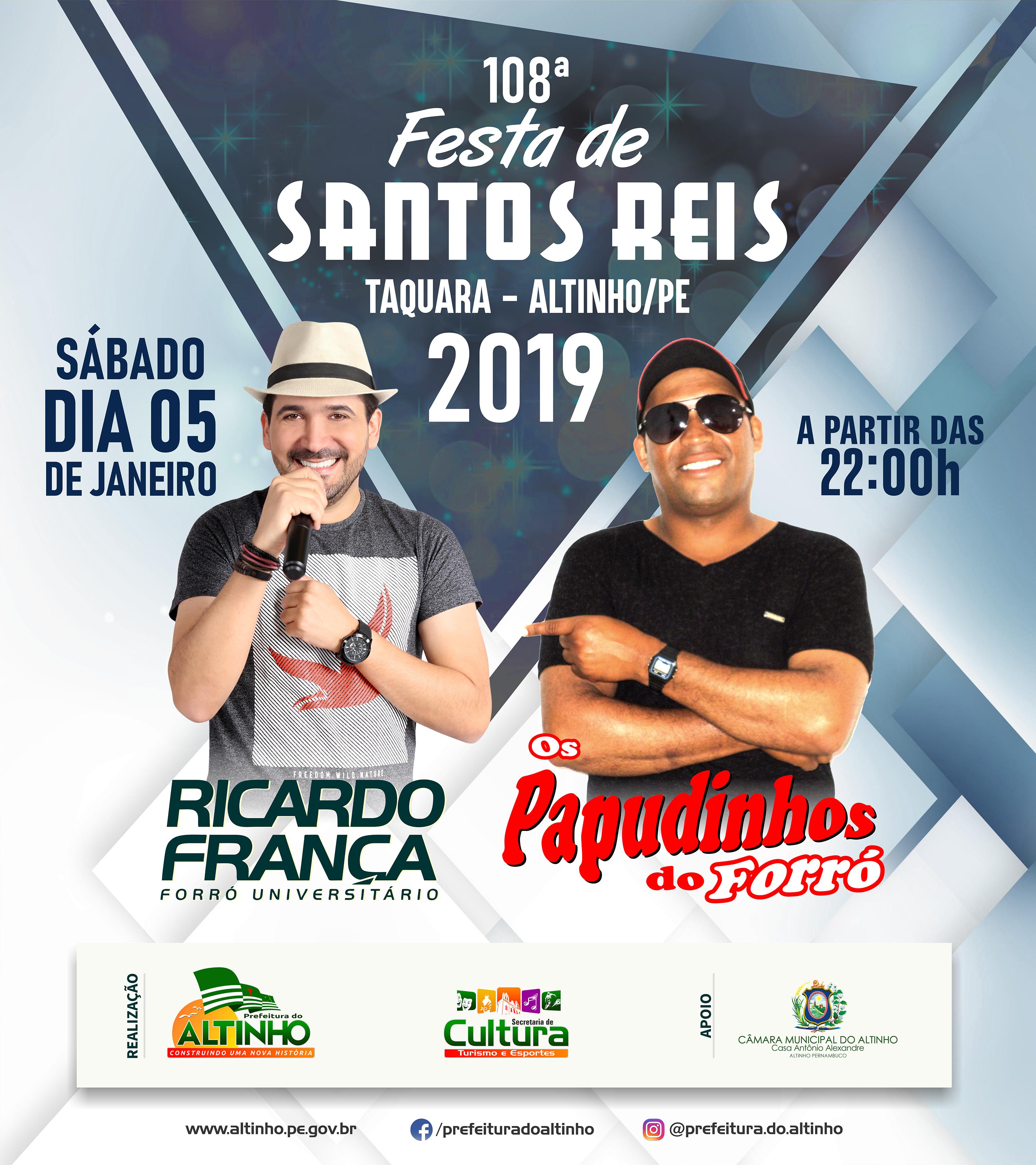 10352b8806d Prefeitura do Altinho » Programação da 108ª Festa de Santos Reis ...