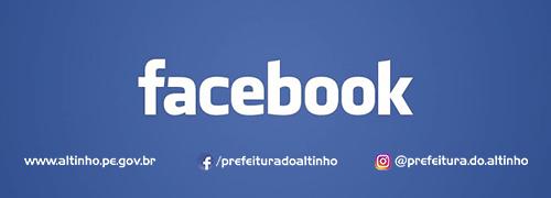 Acesse o Facebook da Prefeitura